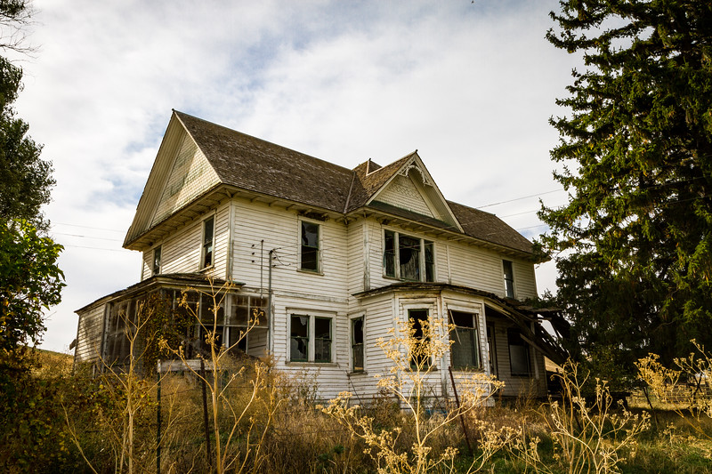 Abandoned Farm House ~ Whitman County, Washington