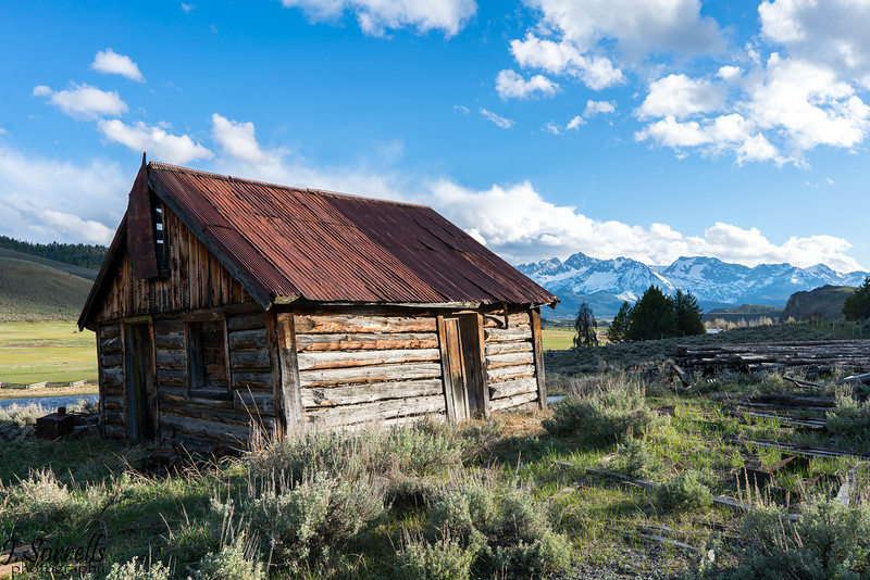 Abandoned Cabin in Stanley ID