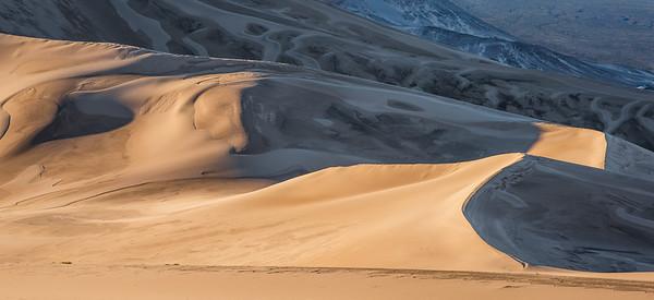 """Dunes to Mountains, Light into Shadows"""