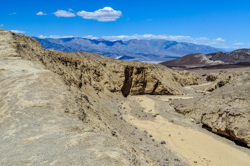 Death Valley Desert Canyon