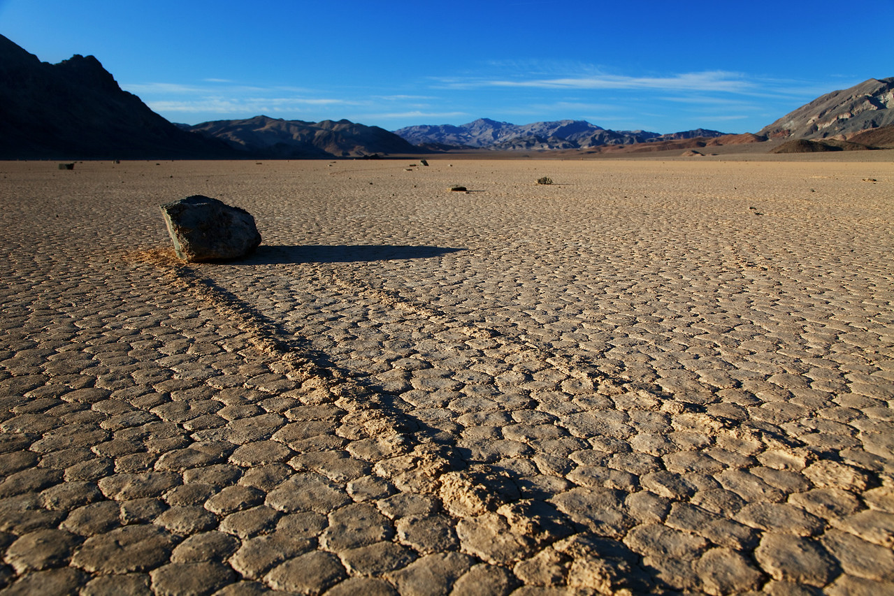 Sailing Stones on the Racetrack Playa
