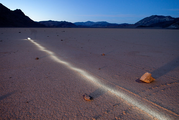 Sailing Stones on the Racetrack Playa - Mystery Solved!