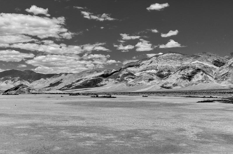 Sharp Desert Black & White