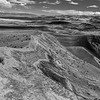Ubehebe Crater Rim Black & White