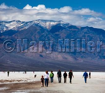 Death Valley Salt Flata