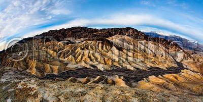 Death Valley Water Erosion