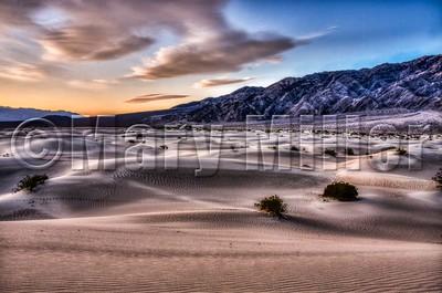 Morning Shadows Death Valley