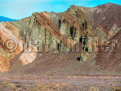 Green Siltstone Death Valley