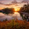 September's Golden Rays