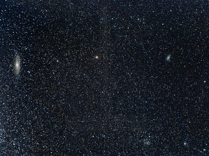 M31 and M33.