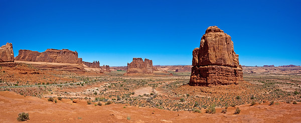 Arches National Park Valley View