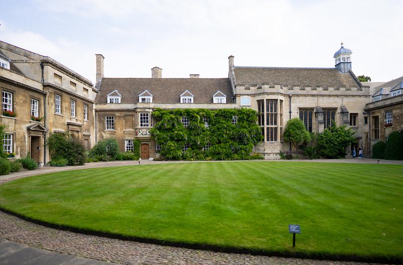 First Court in Christ's College, Cambridge (Jul 2021)