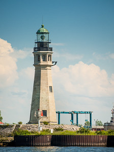 Buffalo Harbor Light