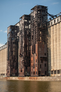 Three Grain Elevators