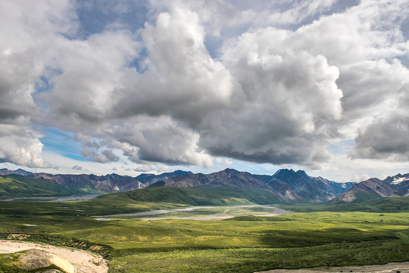 Clouds Over Denali National Park