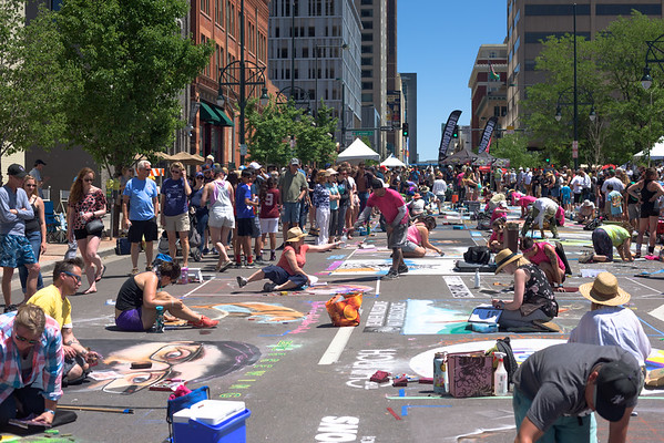 Denver Chalk Art Festival
