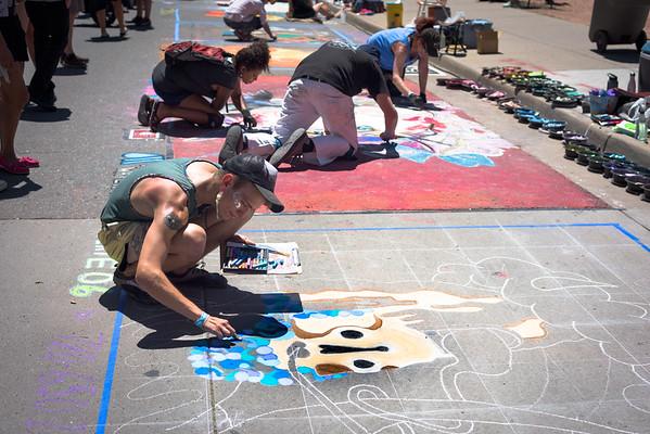 Denver Chalk Art Festival