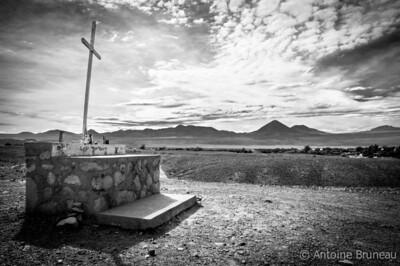 Lost sanctuary in the Atacama desert, Chile.