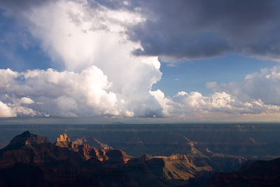 """Clearing Storm"" - Grand Canyon National Park, AZ"