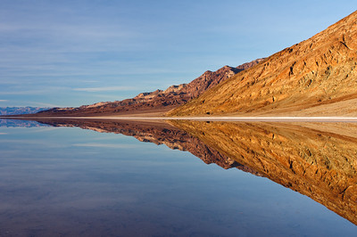 """The Clear Mirror"" - Death Valley National Park, CA"