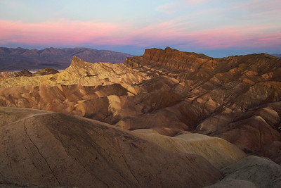 """Zabriskie Point Sunrise"" - Death Valley National Park, CA"