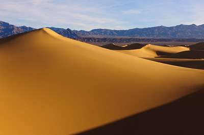 """Golden Dunes""  - Death Valley National Park, CA"