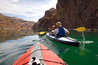 Kayaking on the Colorado