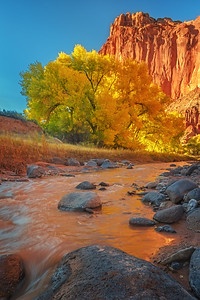 Redrock Autumn River