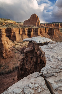 Upper Cathedral Valley Storm