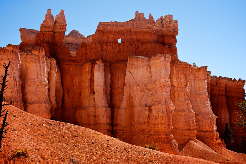 Window in the hoodoos