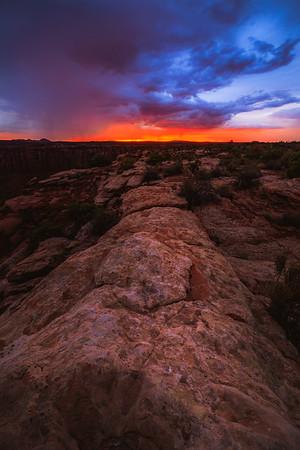 Post Monsoon Sunset