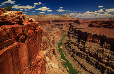 The Colorado River Grand Canyon National Park, Arizona