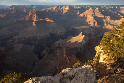 Sunset, Yavapai point,. Grand Canyon N.P. Az..
