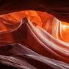 Believe it or not, it's actually pretty difficult to capture photography in Antelope Canyon in Northern Arizona. The canyons themselves are so dark and the dust from the floors of the canyon so thick, you can't switch lenses without serious dust getting into your sensor, and if you don't have a tripod you might as well forget about it. Bracketing images in the canyons is an absolute must and being prepared with the right gear is essential!