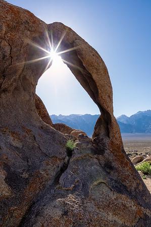 Sunstar through Cyclops Arch