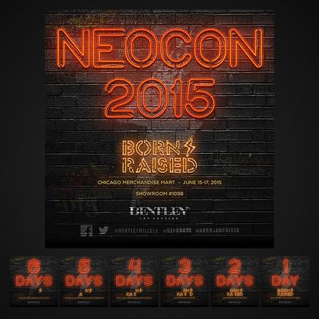NeoCon Tradeshow Event Countdown