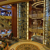 Interior of the Diamond Princess.<br /> July 16, 2010.