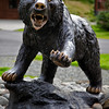 Bear sculpture.<br /> On the grounds of the Mt. McKinley Princess Wilderness Lodge.<br /> July 5, 2010.