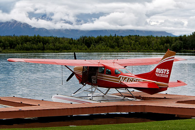 One of the float planes we flew from Wasilla to Talkeetna, AK. July 4, 2010.