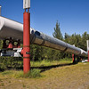 Trans-Alaska Pipeline.<br /> Copper Center, AK.<br /> July 9, 2010.