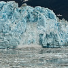 "Hubbard Glacier, ""calving.""<br /> Yukutat Bay, viewed from the Diamond Princess.<br /> July 11, 2010."