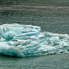 Blue iceberg from Hubbard Glacier.<br /> Yukutat Bay, AK.<br /> July 11, 2010.