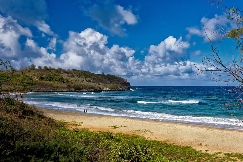 Kauai: Secluded beach