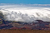 Maui:  At the top of Haleakala Volcano National Park.