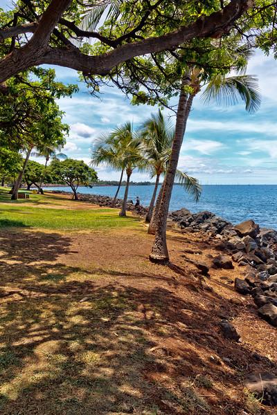Maui:  Shoreline between downtown Lahaina and Kaanapali Beach.