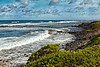 Kauai: Coast near Kapaa.