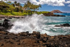Maui:  Secluded beach near Wailea