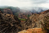 Kauai: View of Waimea Canyon.