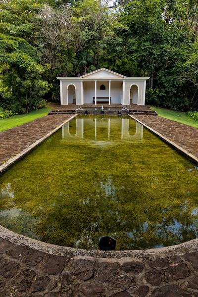 Kauai: Diana Fountain, Allerton Garden (NTBG)