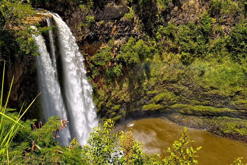 Kauai: Wailua Falls.